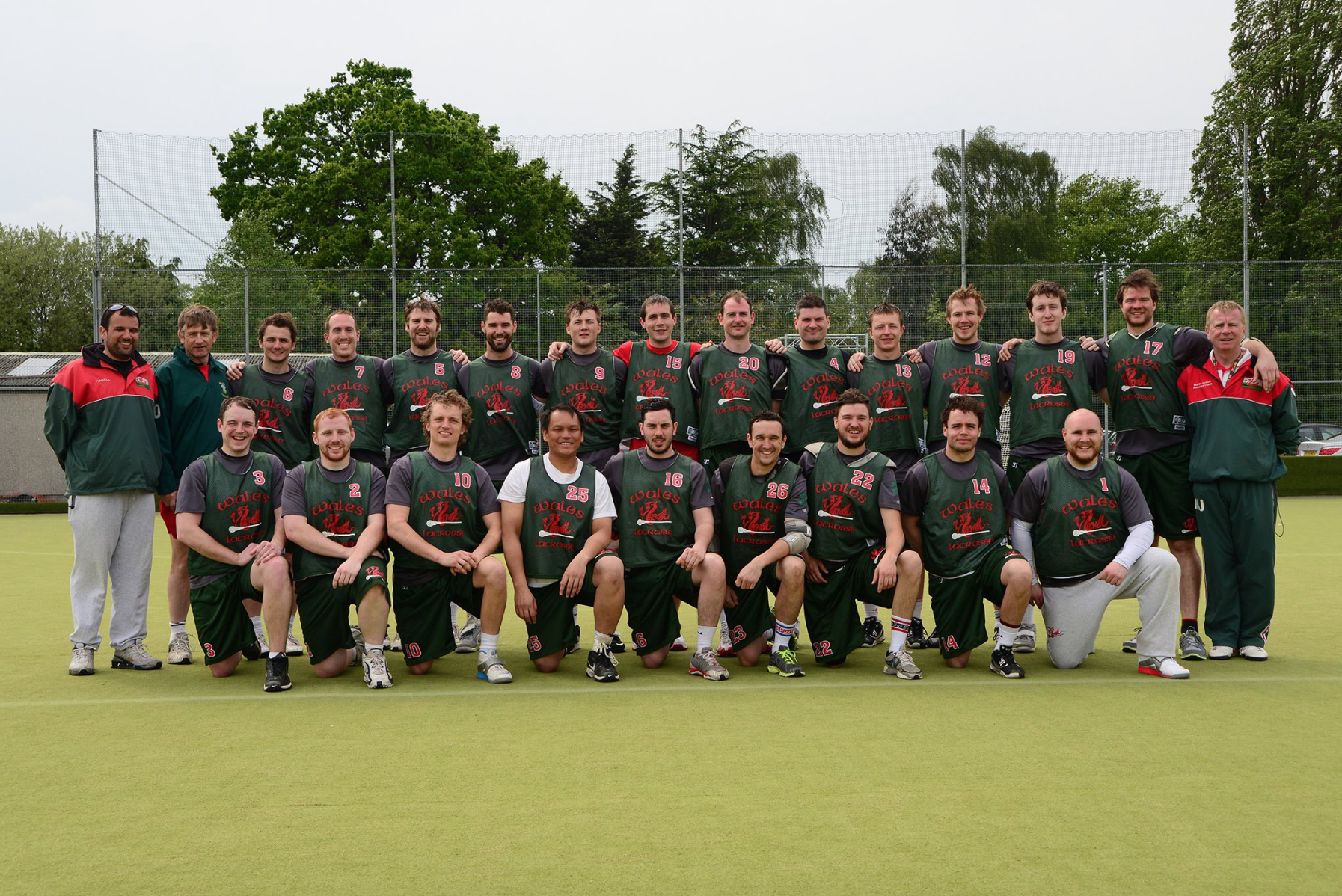 Hitchin Lacrosse... Well represented in the 2016 Wales lineup